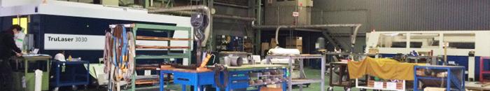 トルンプ(TRUMPF)社の高性能高速レーザー加工機が2台