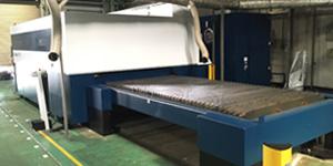 トルンプ社のレーザー加工機2