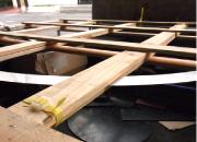 木枠のパレット